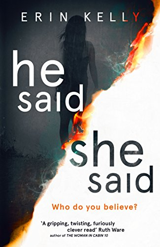 He Said She Said By Erin Kelly Bookreview The Book Review Caf