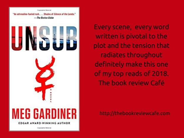 Unsub By Meg Gardiner Bookreview Duttonbooks Meggardiner1