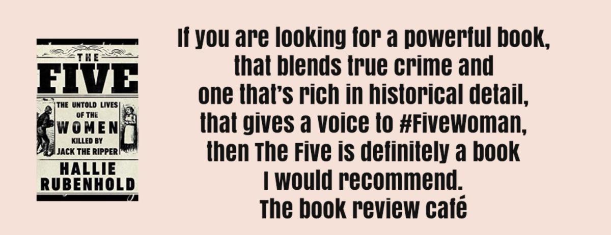 #TheFive by Hallie Rubenhold @HallieRubenhold @DoubledayUK #thefivewomen #iamPollyAnnieElizabethKateMaryJane